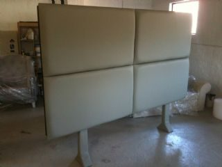 Large Material Covered Headboards