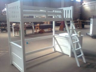 Panel Loft Bunk with removable ladder