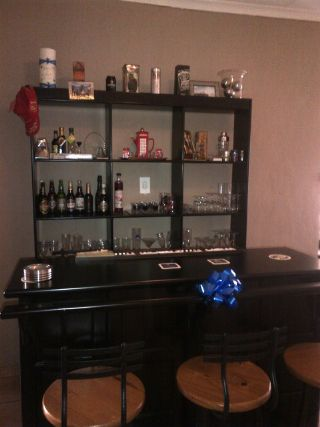 Bar Back Room Divider