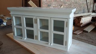 Wall unit with Mould Top