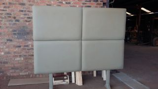 Large King Faux Leather Head Board