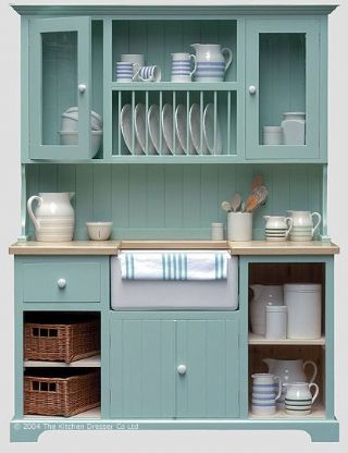 Dresser with Butler sink and Plate rack