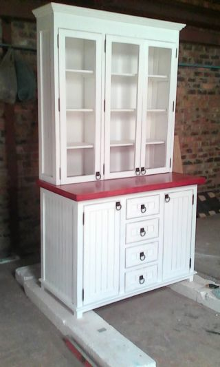 OS Dresser Glass Doors