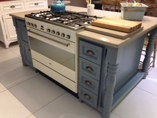 Completed unit with marble Top