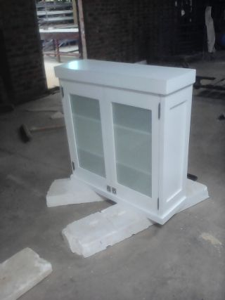 Wall unit Double Door with Frosted glass film