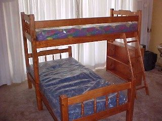 Danie Double Bunk L Shape