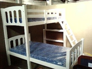 Vinn L shape Double Bunk Bed