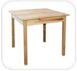 G Series Table 900x900 with 40x40 Square legs