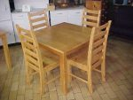 5 Piece Dinette Table & Chair Set