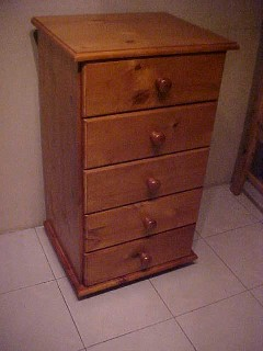 5 Draw Tall Boy--Great for Kids Room