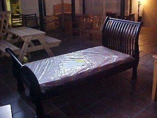 Zebra Sleigh Bed Single.