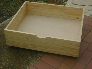 Underbed Storage Box on Wheels