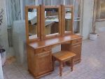 3 Mirror Dressing Table and Stool