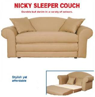 Nicky 2 Seater Sleeper Couch
