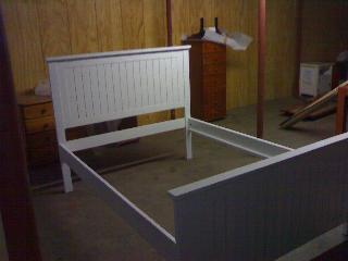 Country Panel Double Bed. Availble in all sizes to