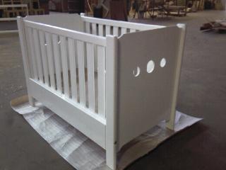 Panel Baby Cot - New Type