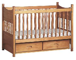 De Lux Baby Cot with Draws Under Neath