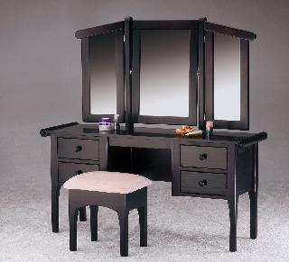 Sleigh 3 Mirror Dressing Table