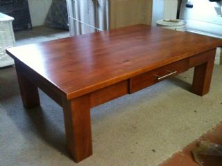 Fresian Coffee Table with Draw