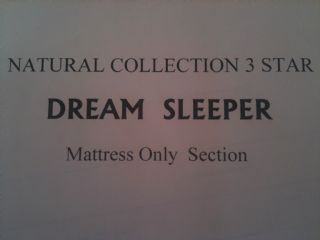 START OF MATTRESS ONLY SECTION