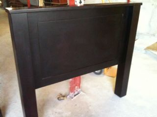 Large Leg & Cap Panel Headboard Double