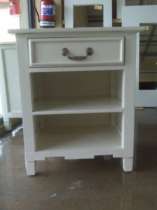 French provincial pedestal