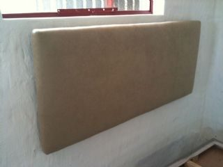 Suede or Material Covered Wall Mount Head Boards