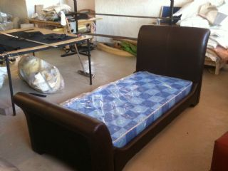 Brian Single Sleigh Bed..Other sizes on applicatio