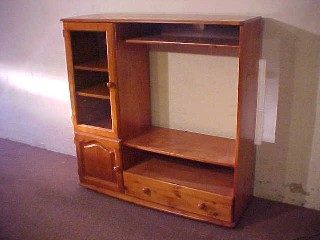 Single Door Entertainment Unit